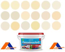 Fassadenfarbe, Aussenfarbe, Reinacrylat, beige, gelb, sand, RAL, Schöner Wohnen,