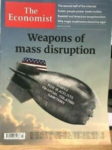 MAGAZINE THE ECONOMIST N°23 - June 8th-14th 2019 - Weapons of mass disruption
