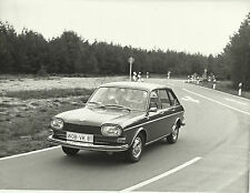 VW Volkswagen 411 On The Road Front View WOB VK 81 Original Photograph