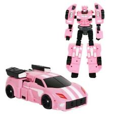 Miniforce X LUCYBOT Transforming Commando X-Machine Car from Robot Pink Color