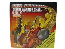 Justitoys WST World's Smallest Transformers Desert Warrior Red Snarl