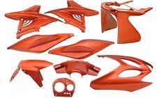 Kit Carénage Capot 9 Pièces en Orange Metallique Yamaha Aerox MBK Nitro