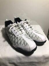 FootJoy FJ Superlites Spikeless Golf Shoes 98951 US 9 M Women Mesh White Black