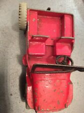 "DINKY TOYS MODEL No. 25Y/ No. 405 UNVERSAL  JEEP "" RED  VERSION"" 1950`s"