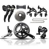 Shimano 105 - 5800 - 11 Speed - Road Bike Groupset - Black