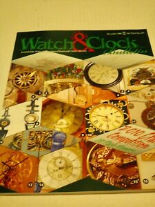 #869] NAWCC Bulletin #389 Dec 10 Lighthouse, Am Watchmakers, Rolex Crown Patents