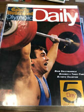 1996 Atlanta Olympic Daily Naim Suleymanoglu SPORTS ILLUSTRATED Day # 5 Rare