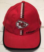 Vintage Kansas City Chiefs Strapback Hat Logo Athletic Pro Line NFL Football Cap