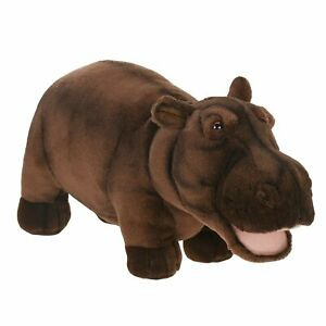 "NEW + Tag - Happy Hippo Hippopotamus Plush Stuffed Animal 18"" by Hansa Toys 2888"