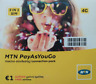 Cyprus PreActivated Sim card - MTN CY Pay As You Go PrePaid Sim Pack