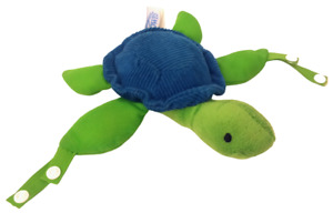 Dr. Brown's Turtle Lovey Pacificer and Teether Holder