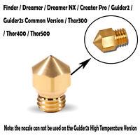 Neue Original FLASHFORGE 3D Drucker Düse 0.4mm für Finder / Dreamer / Dreamer NX