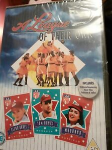 A League Of Their Own  baseball Madonna dvd includes 20 min doc plus other NEW