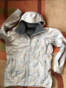 Burton AK Ski Snowboard Gore -Tex Jacket. H0ver camouflage. Men's small
