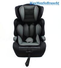 Kinderautositz Autositz Kindersitz GRAU SCHWARZ 9-36kg Gruppe 1+2+3 EU Norm NEU