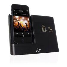 KITSOUND XDOCK 2 Radio Reloj Speaker Dock para iPhone 5 5s 6 6S 7 Nuevo