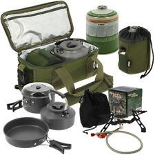NGT Carp Fishing Cooking Camping 3pc Kettle Pan Pot Cook Set