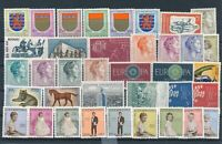 [G379345] Luxembourg good lot of stamps very fine MNH