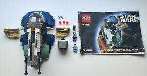 LEGO® 7153 Jango Fett Slave 1 samt Minifiguren und Anleitung [OBA]