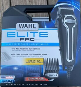 Wahl Home Products Elite Pro High Performance Haircutting Kit Clippers Brand New