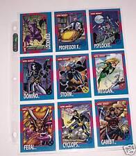 Marvel X-Men Series I Set With 5 Hologram Set Included