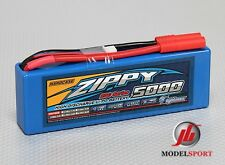 Zippy Lipo RC Batterie de Voiture Coque Rigide 2cell 2S 7,4 V 5000mAh