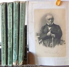 Leben und Briefe Lord Macaulay's Biografie 1876 4 Bd. komplett Selten AA