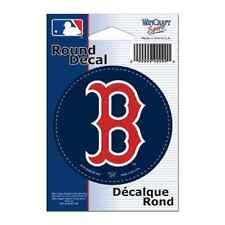 "Boston Red Sox 3"" Round Decal New Free Shipping"