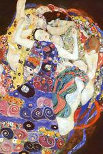 Virgin Poster Print by Gustav Klimt, 24x36