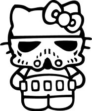 Sticker Hello Kitty 110 Trooper - 57x69 cm