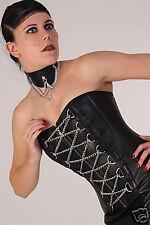 Agneau Cuir Corset Corsage leather corset.