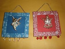 Each Sold Seperate See Details Christmas Angel Holiday Pin Frame