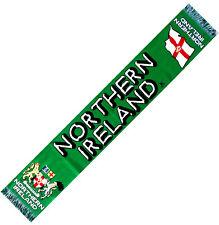 ECHARPE IRLANDE DU NORD scarf schal cachecol drapeau maillot fanion casquette ..