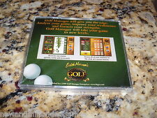 Butch Harmon's Gold Edition Golf Manager (PC, 1999) Game Program Sealed (NEW)