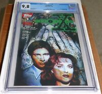 Topps Comics X-Files #1 CGC SS 9.8 1st Comic Book Appearance of Mulder & Scully