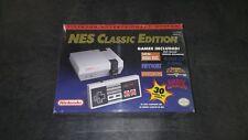 NES Classic Edition 1ST EDITION IN PLASTIC CASE!!  Nintendo Mini System  Rare!!