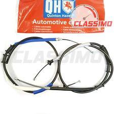 Rear Handbrake Cable Pair for FIAT GRANDE PUNTO 199 - 1.2 models - 2005 to 2010