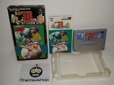 85-16 SUPER NINTENDO SNES FAMICOM SFC SUPER 3D BASEBALL JAPAN
