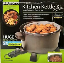 Presto 06009 10-Quart Kitchen Kettle XL