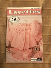 New listing New Leisure Arts *Layettes* 13 Projects to knit & crochet