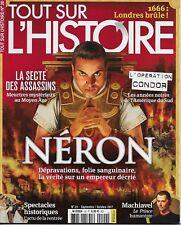 TOUT SUR L'HISTOIRE N° 20 : NERON - LA SECTE DES ASSASSINS - OPERATION CONDOR