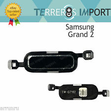 Boton Home Negro para Samsung Galaxy Grand 2 G7102.