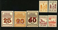 Denmark Viele-Vandel-Grindsted (VVGJ) range of railway and railway freigh Stamps
