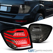 For 06-11 Mercedes Benz W164 ML-Class Smoke LED Tail Lights Tinted Brake Lamps