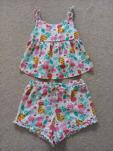 Girl's Peppa Pig Strappy Top and Shorts Set from Pop Gear Age 3-4 Years