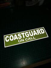 Guardacostas en llamada Reflectante Imán Bote Salvavidas RNLI servicio de emergencia 300 mm