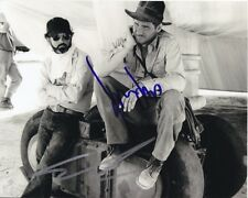 HARRISON FORD & GEORGE LUCAS signed autographed INDIANA JONES photo RARE