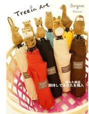 Animal Head Handle Anti UV Sun/Rain Folding Umbrella Parasol Windproof  Umbrella