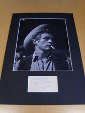 James Dean Genuine signed authentic autograph UACC / AFTAL