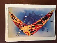 g1f postcard unused reprint advert card australia boomerang